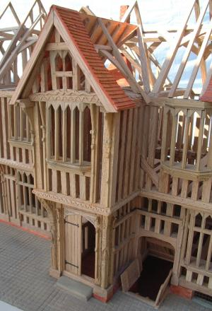 A Model of The Guild Hall